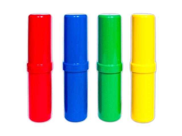 Пенал-тубус пластик Profit Ассорти-2 Стандарт цветной ПН-5451