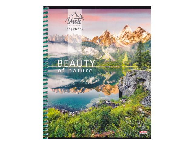 Тетрадь А5 на спирали м/обложка  48л Prof Press Красота природы-2 48-0090
