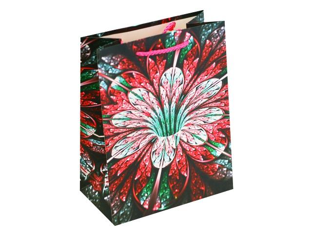 Пакет подарочный бумажный 18*23*10см Экзотический цветок Miland ПП-4048