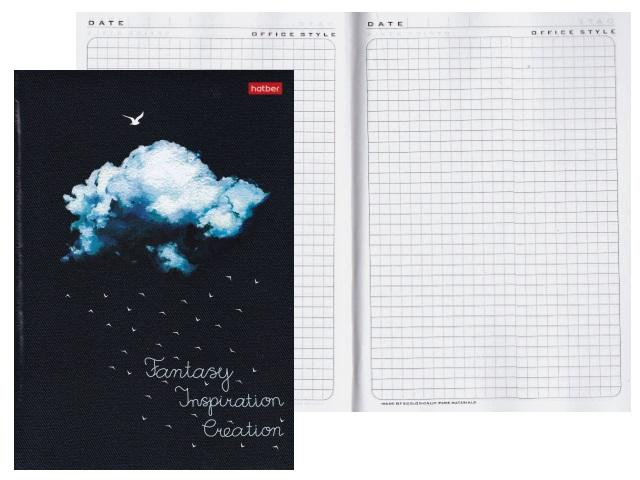 Записная книжка А5 Hatber тв/переплёт 120л Облако 120ББп5В1_20818