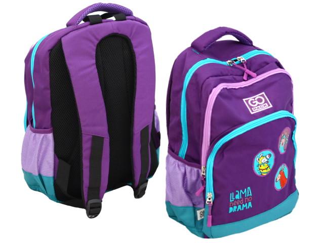 Рюкзак Kite GoPack Lama 38*28*18см фиолетовый GO20-113M-4