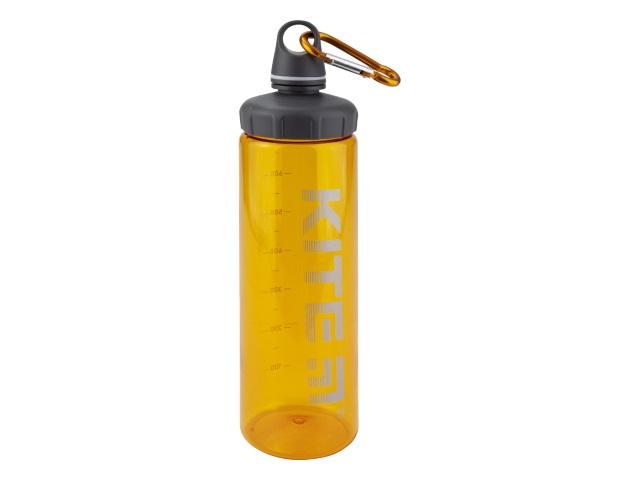 Бутылочка для воды Kite 750мл с карабином оранжевая K19-406-07