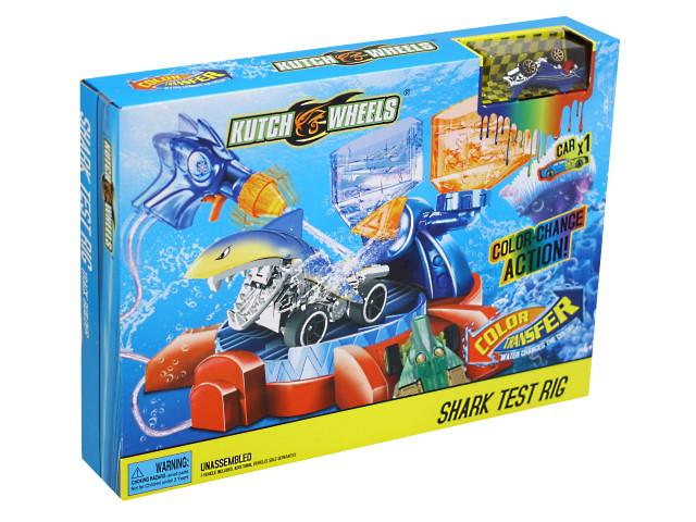 Автотрек Атака акулы 1 машинка Kutch Wheels Color Transfer 1762425