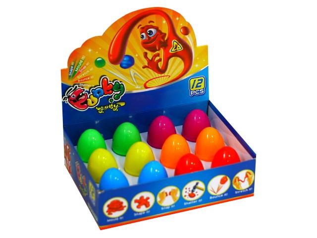 Жвачка для рук Жевака микс цветной в яйце G14132