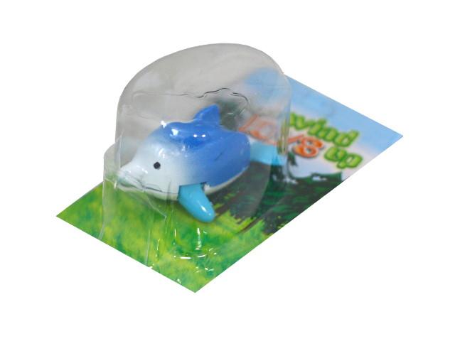 Заводная игрушка для купания Аквабум Дельфинчик 5см 100537799