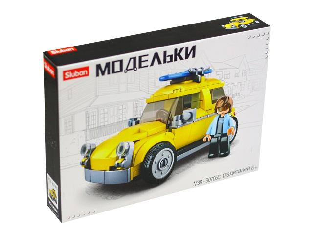 Конструктор 176 деталей Модельки Автомобиль Sluban M38-B0706C