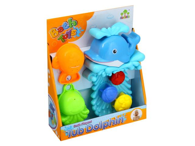 Набор для купания Дельфинчик 25см Bath Toys 1488006