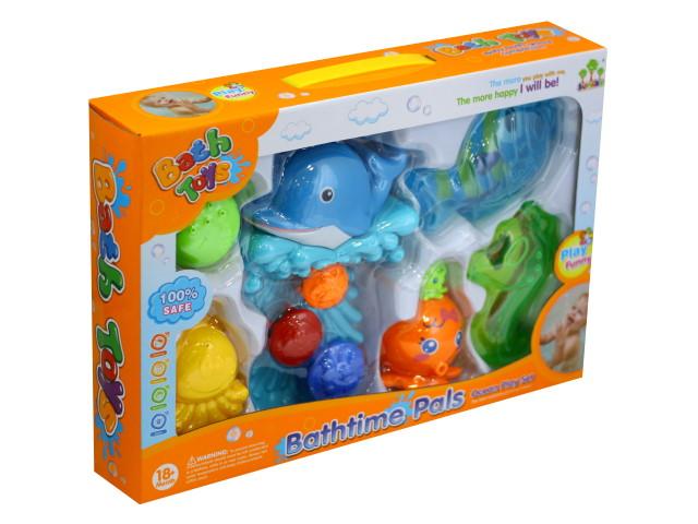 Набор для купания Забавные друзья Bath Toys 100961835