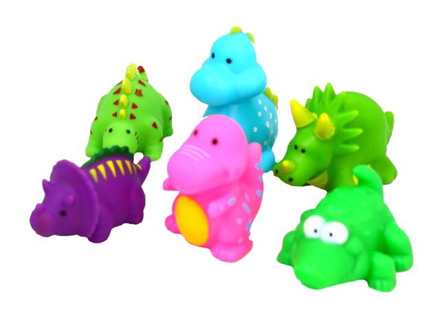 Игрушки для купания  6 шт. Динозавры Kaili Toys 1782808