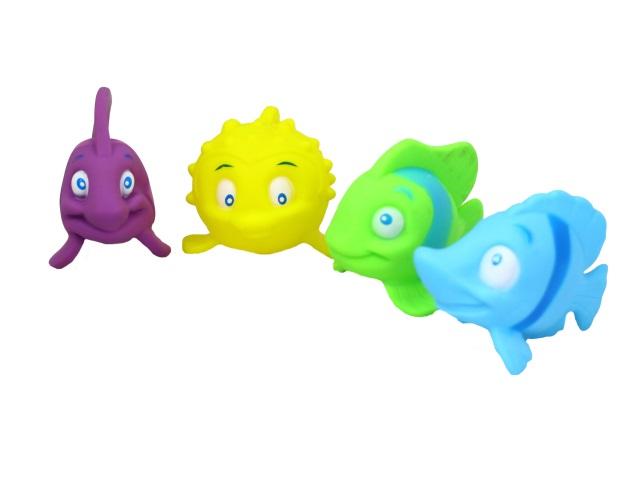 Игрушки для купания  4 шт. Забавные рыбки Bathing Series 1779355