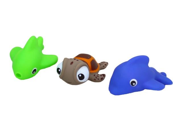 Игрушки для купания  3 шт. Морские обитатели Bathing Series 1779356