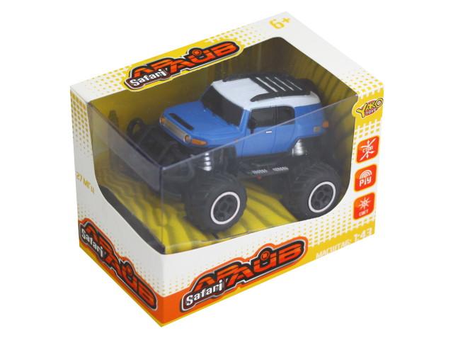 Машина на радиоуправлении Внедорожник Гонщик 12см Safari Драйв  Yako Toys M6316