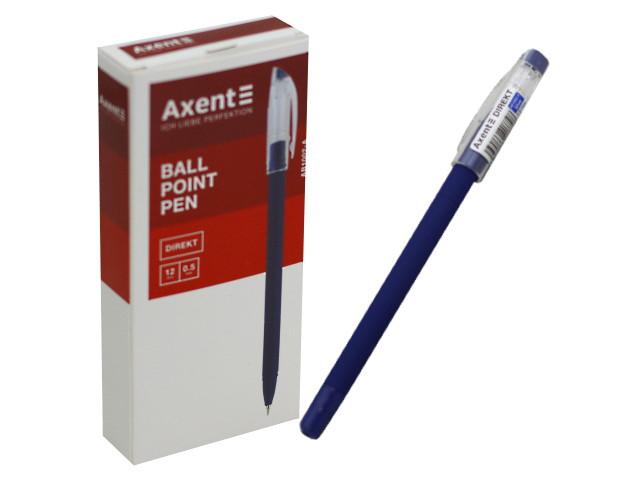 Ручка шариковая Axent Direct синяя 0.5мм AB1002-02-A