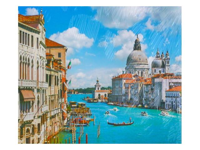 Картина по номерам 40*50см Венеция Mazari М-10864