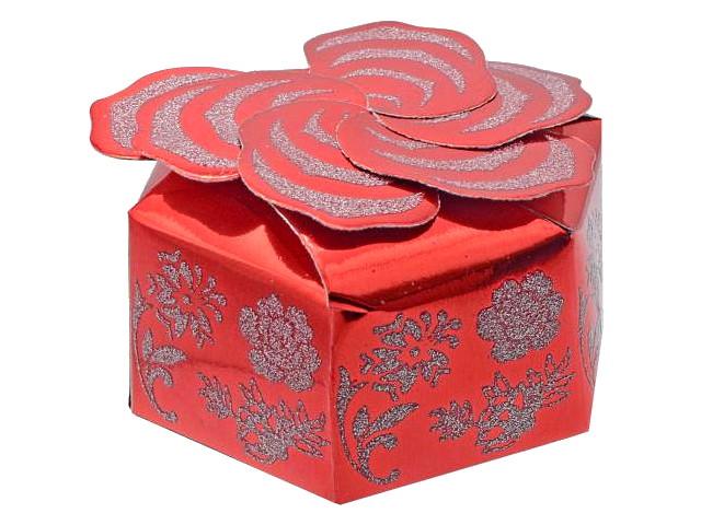 Коробка подарочная складная 10.3*10.3*4.8см Winter Wings PW7826