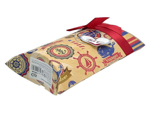 Коробка подарочная складная 24.5*12.5см микс Winter Wings PW7828 7744