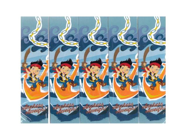 Закладка-магнит 10 шт. Дисней Капитан Джек и пираты Нетляндии Prof Press 4-41-0009