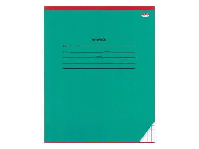 Тетрадь 18л клетка Prof Press Классика темно-зеленая 18-3540