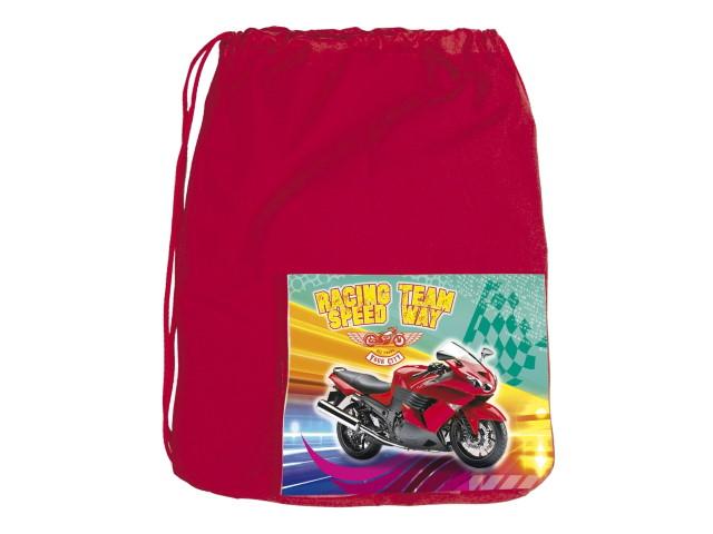 Сумка для обуви с карманом Prof Press Красивый мотоцикл МО-6177