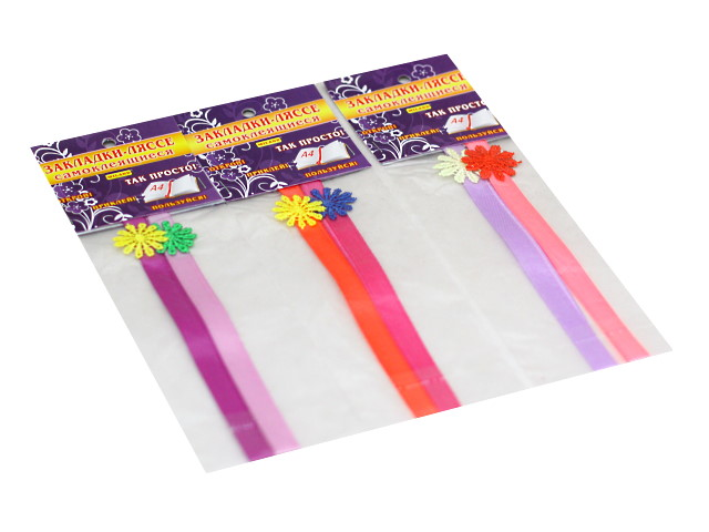 Закладка-ляссе 2 шт. самоклеящиеся Цветочный луг Miland 3-31-0008