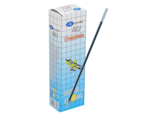 Стержень шариковый 150мм Basir синий 0.7мм МС-51