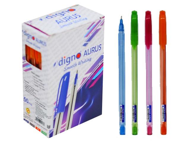 Ручка масляная Digno Aurus синяя 0.7мм DG-10105
