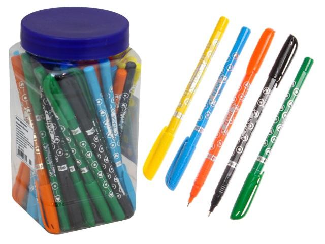 Ручка масляная Digno Flash синяя 0.7см DG-10111
