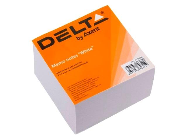 Блок бумажный белый 90*90 мм 450л Axent Delta D8006