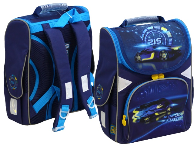 Ранец школьный Kite GoPack Education Speed future 34*26*13см синий GO20-5001S-13