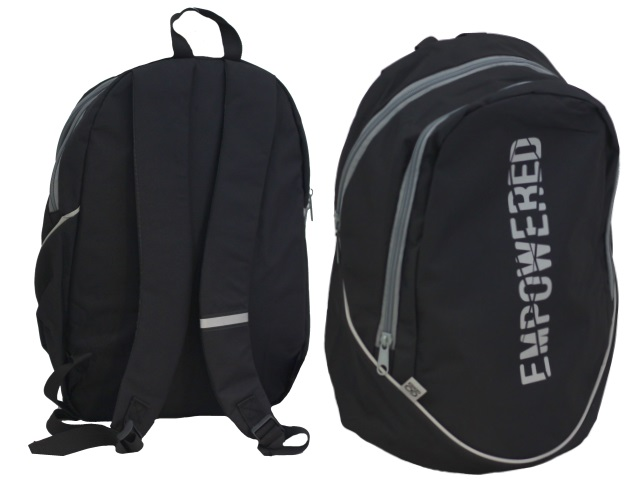 Рюкзак Kite GoPack Сity Empowered 43*28*22см черный GO20-120L-2