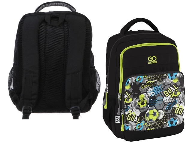 Рюкзак 2020 Kite GoPack Education Play football 38*28*18см черный GO20-113M-8