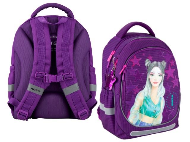 Ранец школьный Kite Education Fashion 38*28*16см сиреневый K20-700M-4
