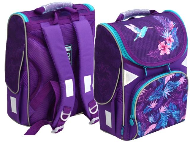 Ранец школьный Kite GoPack Education Colibri 34*26*13см фиолетовый GO20-5001S-7