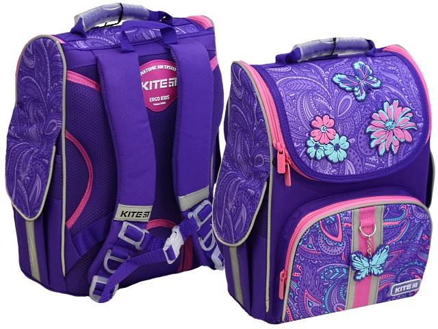 Ранец школьный Kite Education Flowery 35*25*13см фиолетовый K20-501S-6