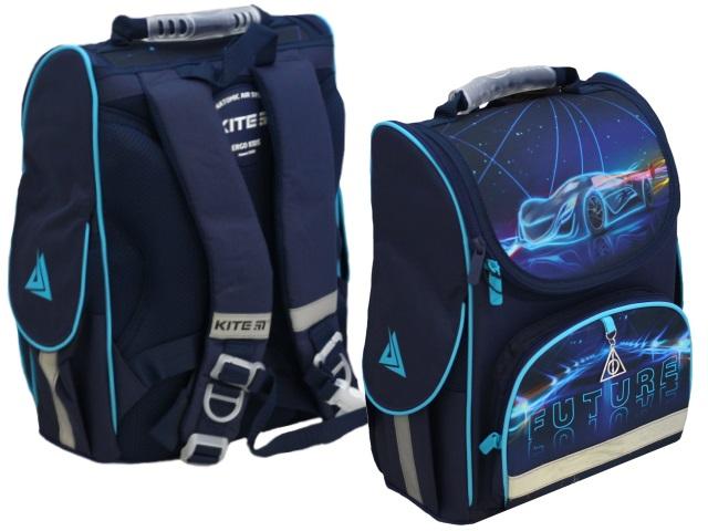 Ранец школьный Kite Education Futuristic 35*25*13см синий K20-501S-5