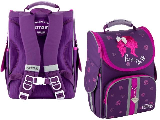 Ранец школьный 2020 Kite Education Princess 35*25*13см фиолетовый K20-501S-9