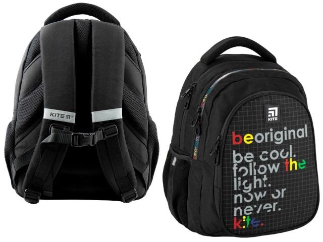 Рюкзак 2020 Kite Education Be Original 40*29*17см черный K20-8001M-2