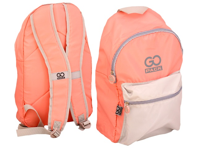 Рюкзак 2020 Kite GoPack Сity 44*28*13см персиково-серый GO20-159L-2
