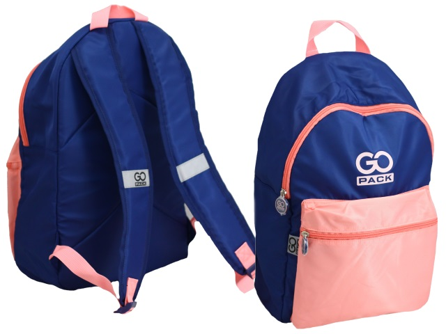 Рюкзак Kite GoPack Сity 44*28*13см сине-розовый GO20-159L-3