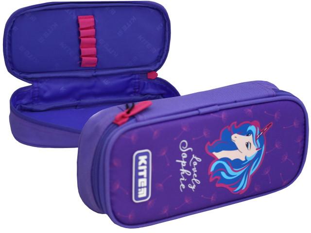 Пенал Kite Lovely Sofie фиолетовый K20-662-1