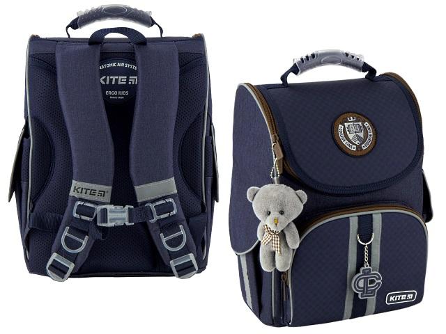 Рюкзак Kite Education College line blue 35*25*13см синий + игрушка K20-501S-11