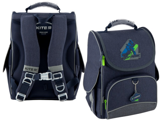 Ранец школьный Kite Education Extreme 35*25*13см синий K20-501S-4