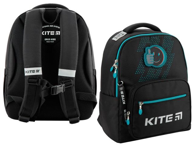 Рюкзак Kite Education Be happy 38*28*13см черный K20-770M-2