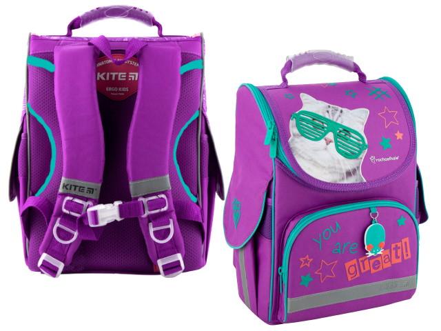 Ранец школьный 2020 Kite Education 35*25*13см фиолетовый R20-501S