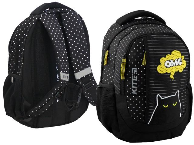 Рюкзак Kite Education OMС 40*30*17.5см черный K20-855M-4