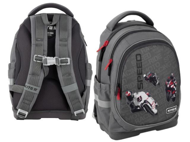 Рюкзак Kite Education Speed 36*27*16см серый K20-724S-2