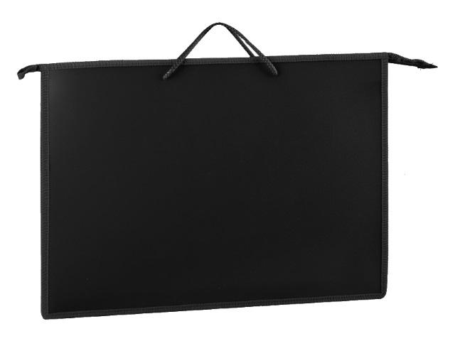Папка на молнии А3 330*450*50мм черная ПМ-А3-35 206351