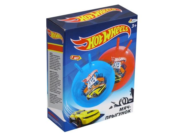 Мяч-прыгун 45 см с рожками Hot Wheels Играем вместе SJ-18(HWS)