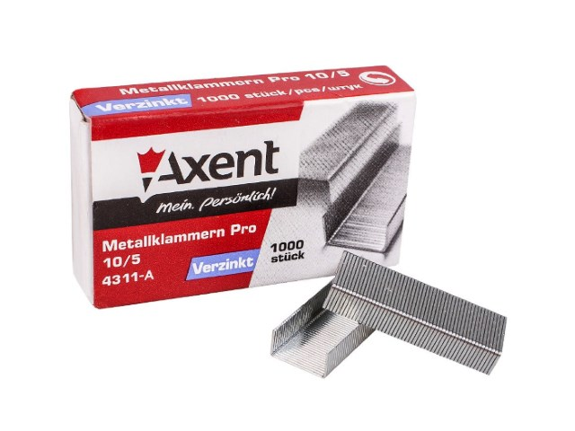 Скоба №10 Axent Pro 1000 шт. 4311-A