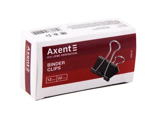 Биндер черный 15 мм Axent 4408-A